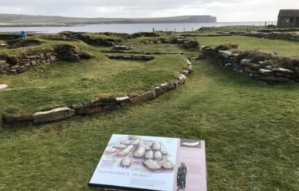 Conveniently situated close to Skara Brae and Brough of Birsay